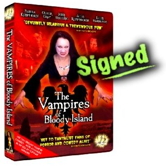 SIGNED The Vampires of Bloody Island (NTSC)